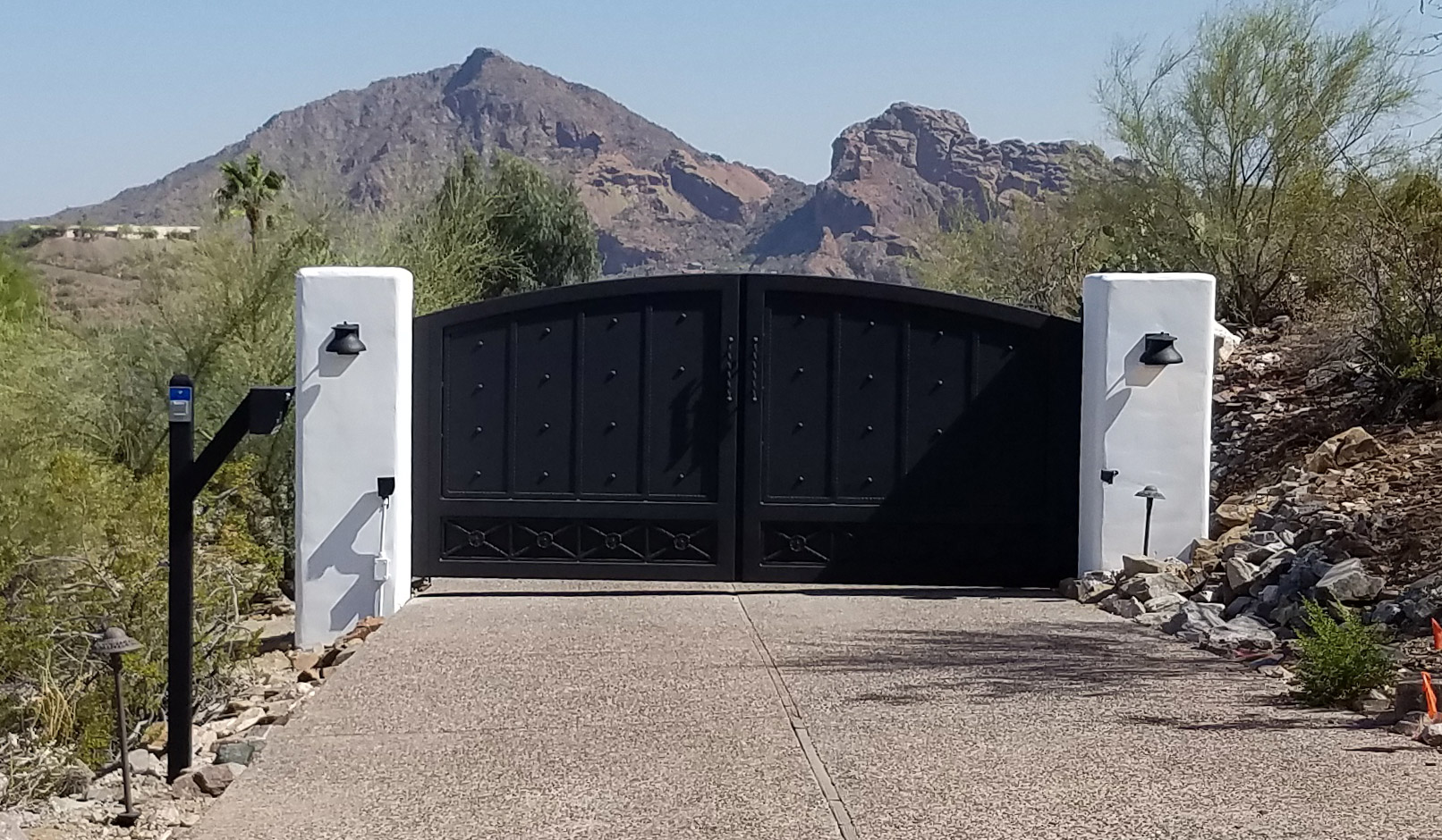 Automatic Wrought Iron Gates Arizona