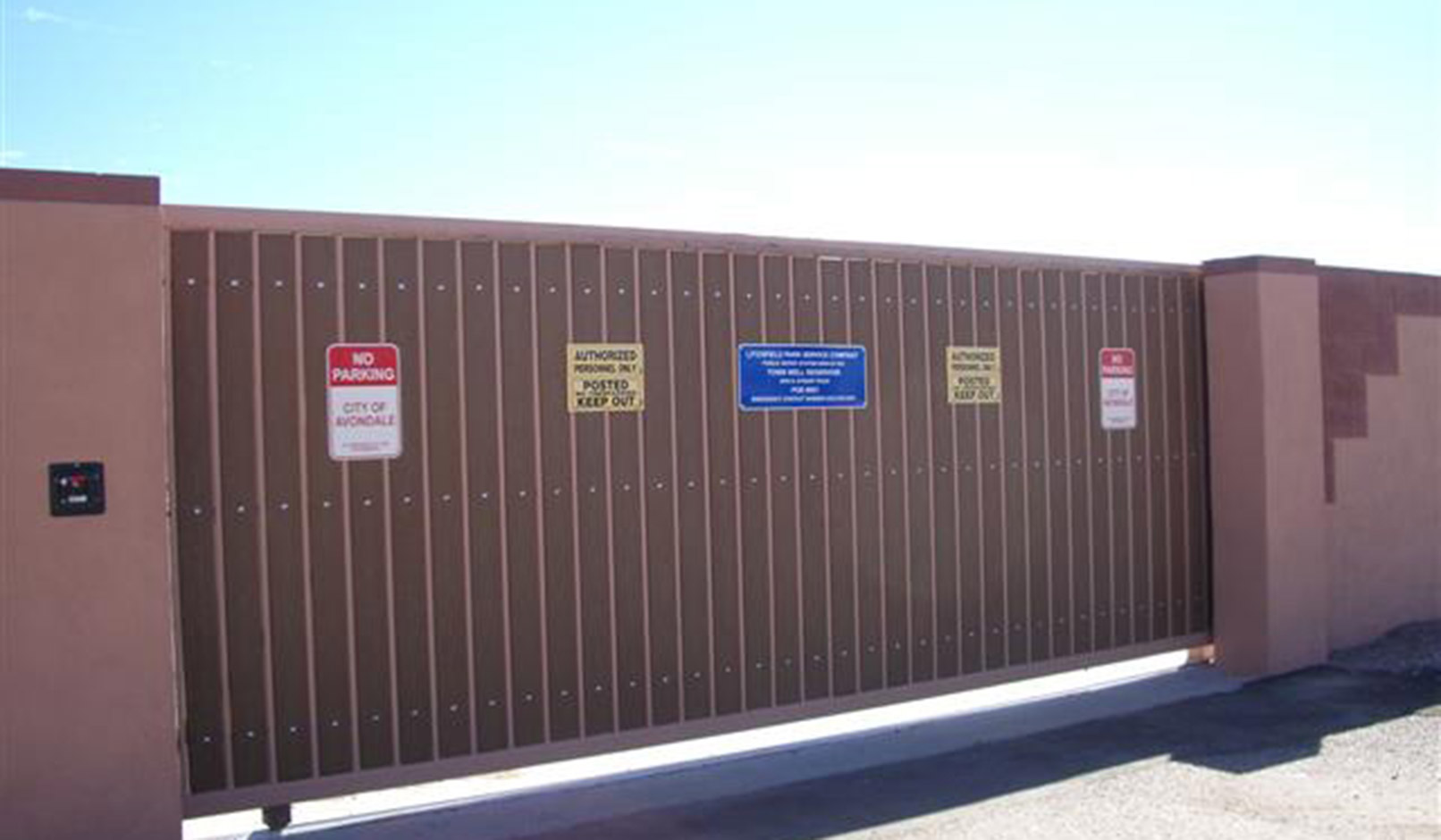 Industrial Automatic Secuirty Gates Arizona